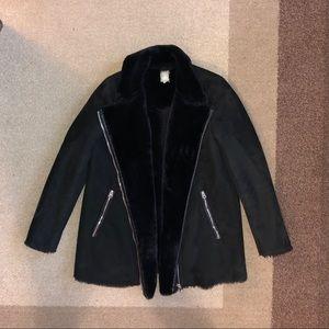 Zara Black Aviator Jacket